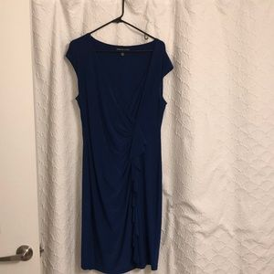 Blue dress perfect for a wedding... or wherever